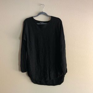 EILEEN FISHER BLACK LONG SLEEVE!